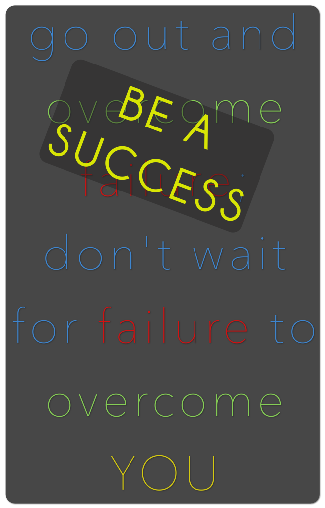 Success, Quote, Failure, Overcome