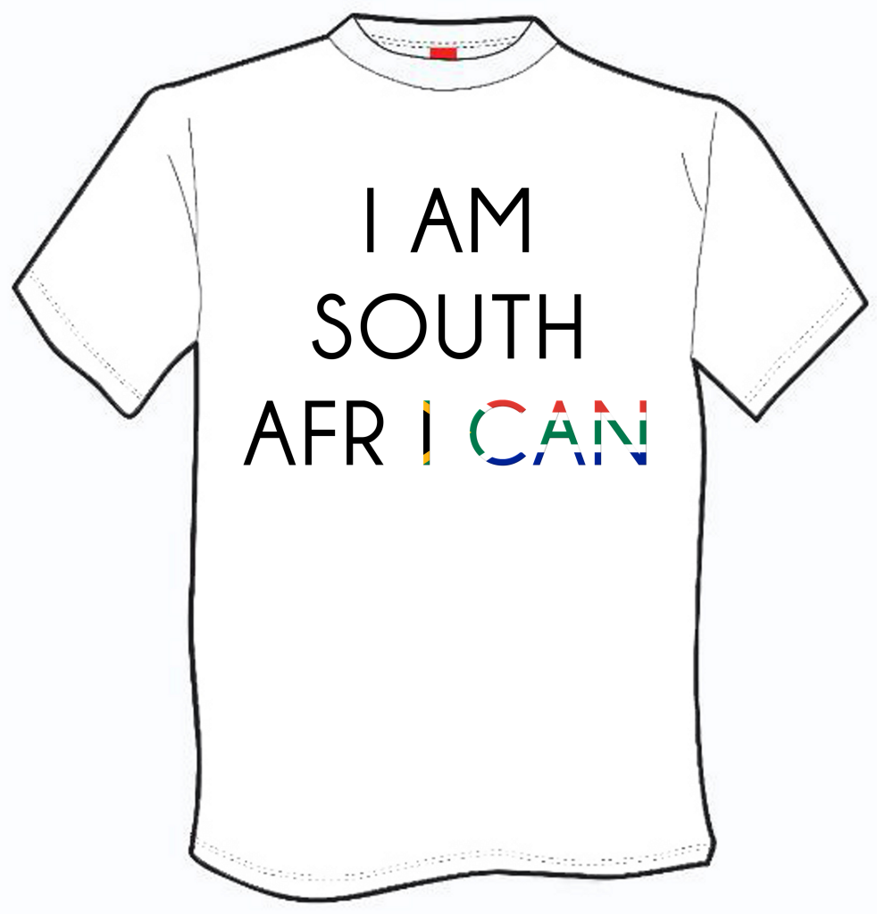 I am South African T