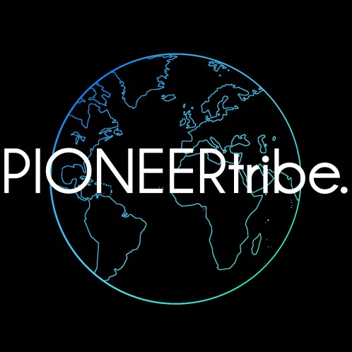 PIONEERtribe blue with black